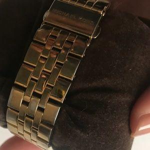 MICHAEL Michael Kors Accessories - Rare Cat Eye and Gold Classic Michael Kors Watch
